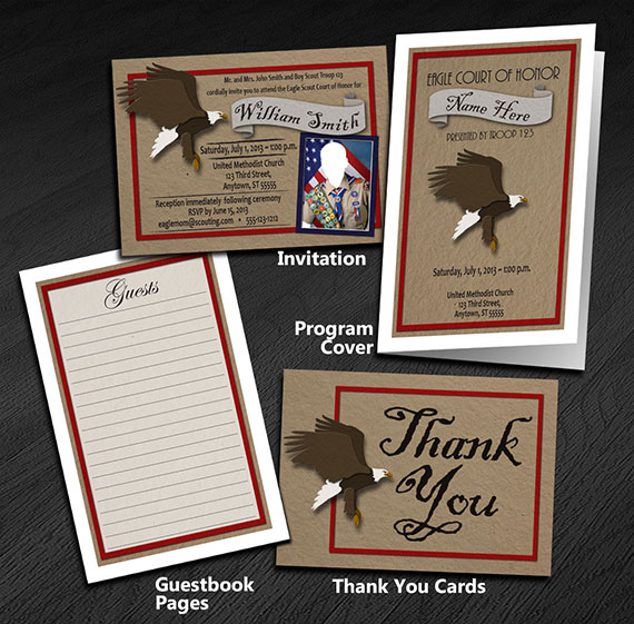 Eagle Scout Thank You Cards